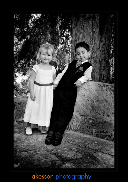 Ring Bearer with Mischief Maid
