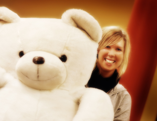 Bec and the Teddy