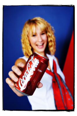Rebecca and Coke