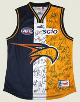 Signed Eagles Footy Jumper