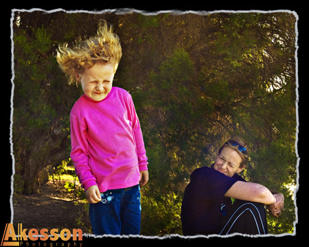 Air blastng Young Children